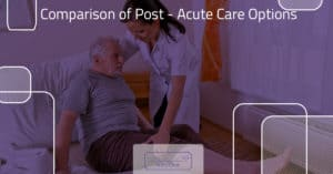 Comparison of Post- Acute Care Options